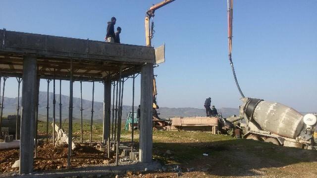 کمک برای ساخت ساختمان محیط بانی قراویز